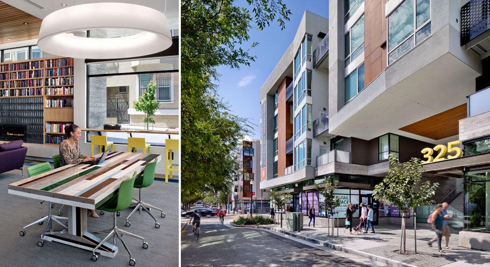 AVALON HAYES VALLEY,   Interior Design: DE+, Architecture: Pyatok Architecture and Urban Design, Kennerly Architecture