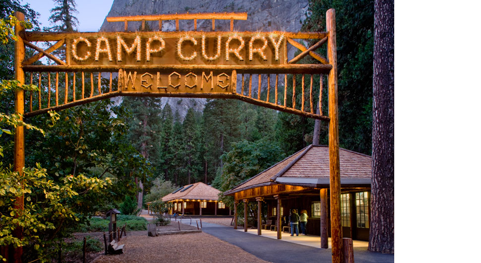 CAMP CURRY, YOSEMITE NATIONAL PARK,    Preservation Architect: Architectural Resources Group