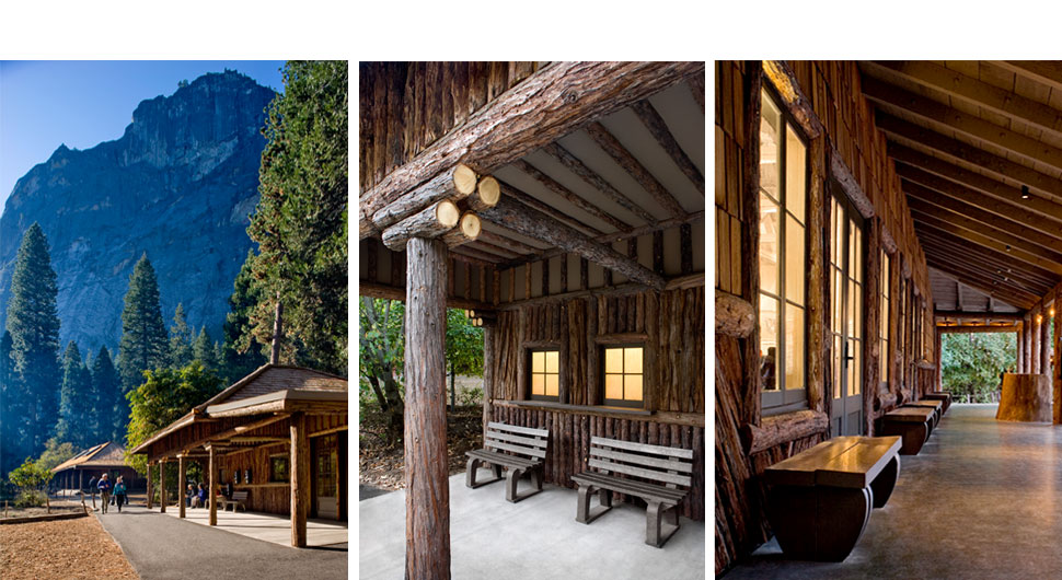 CAMP CURRY, YOSEMITE NATIONAL PARK,    Preservation Architect:Architectural Resources Group