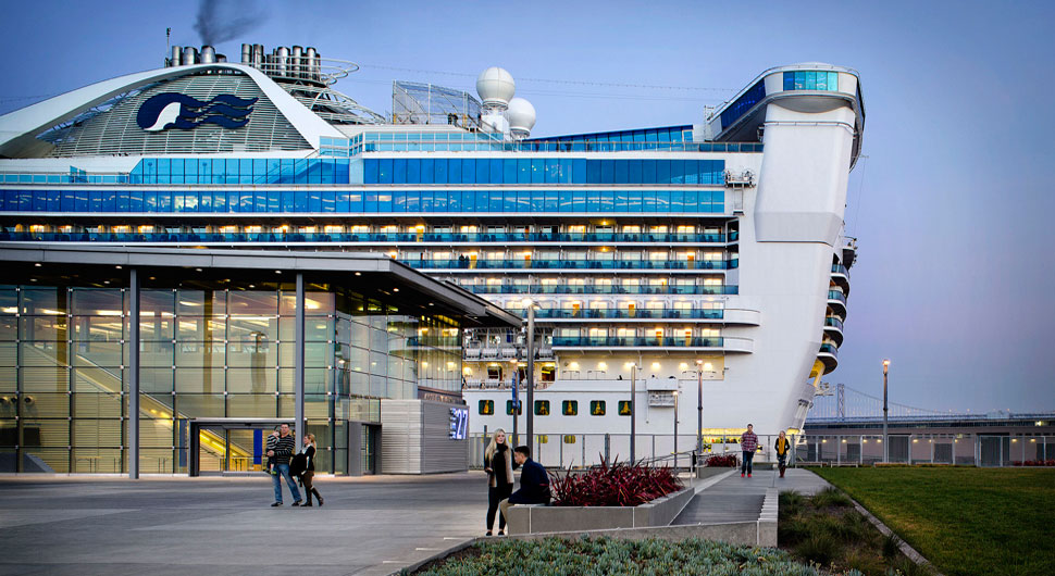JAMES R. HERMAN CRUISE TERMINAL AT PIER 27,    Architects: Pfau Long Architecture, KMD Architects