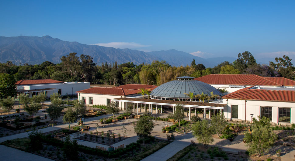 THE HUNTINGTON LIBRARY EDUCATION AND VISITOR CENTER,    Architects: Architectural Resources Group. Landscape Architecture: Office Of Cheryl Barton