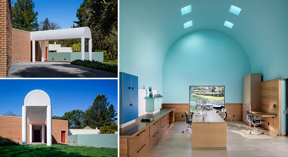 KELLEY RESIDENCE,        Architect: Ettore Sottsass