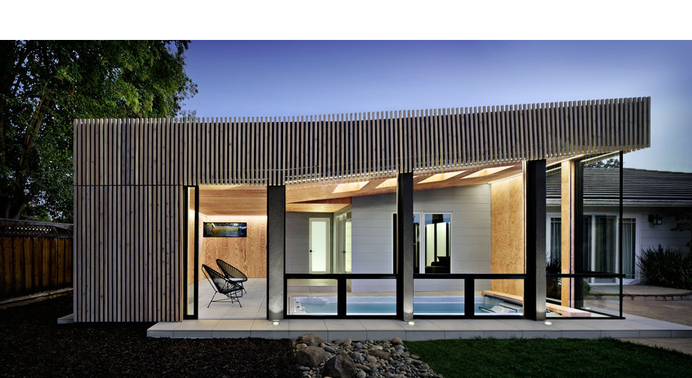 KOH POOL HOUSE,    Architecture: Hwang DeWitt Architecture