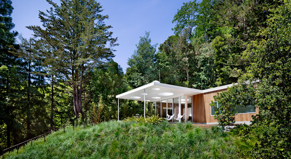 MILL VALLEY GUEST HOUSE,    Architect: Turnbull Griffin Haesloop
