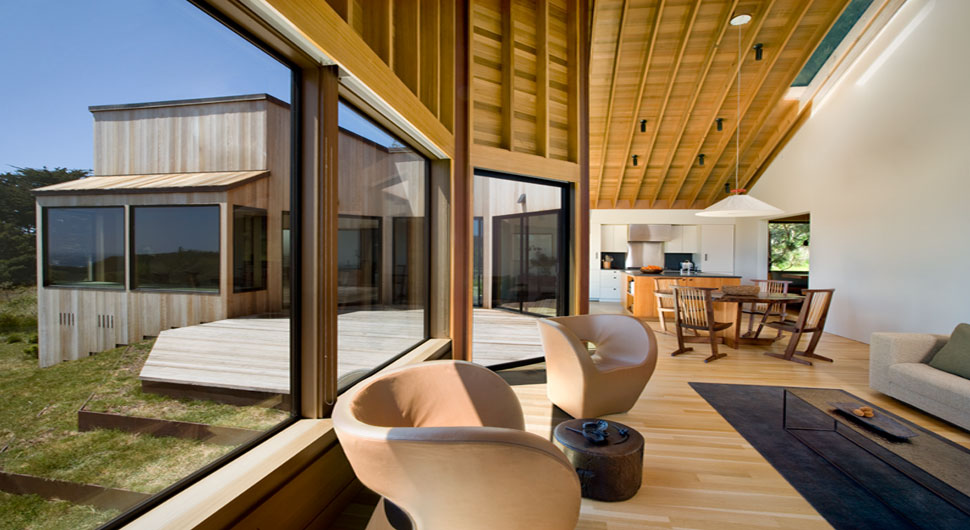 SEA RANCH RESIDENCE,     Architect: Turnbull Griffin Haesloop