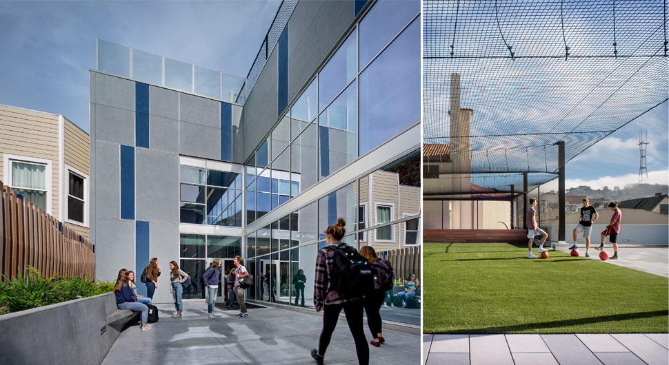 URBAN SCHOOL,    Architecture: Pfau Long Architecture