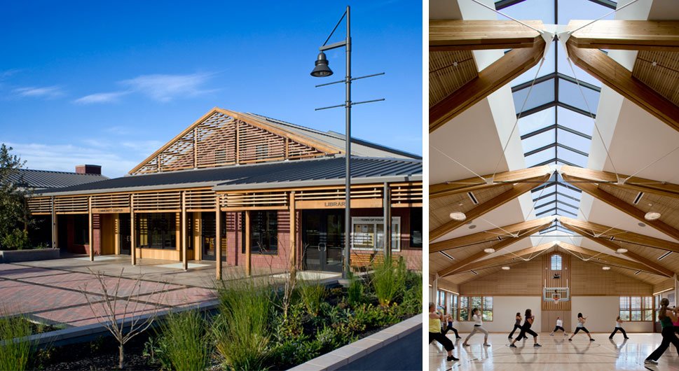 YOUNTVILLE COMMUNITY CENTER,    Architect: Siegel and Strain Architects